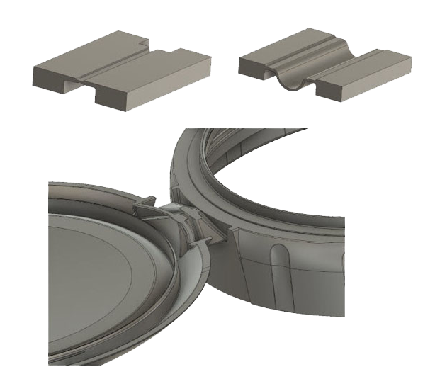 Hinge and Clip Examples Injection Molding